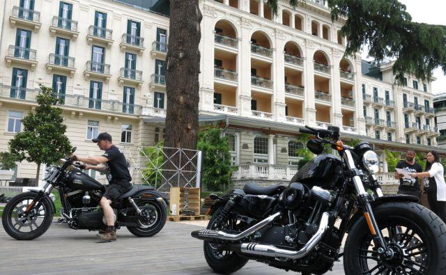 Harley Davidson manija v Portorožu