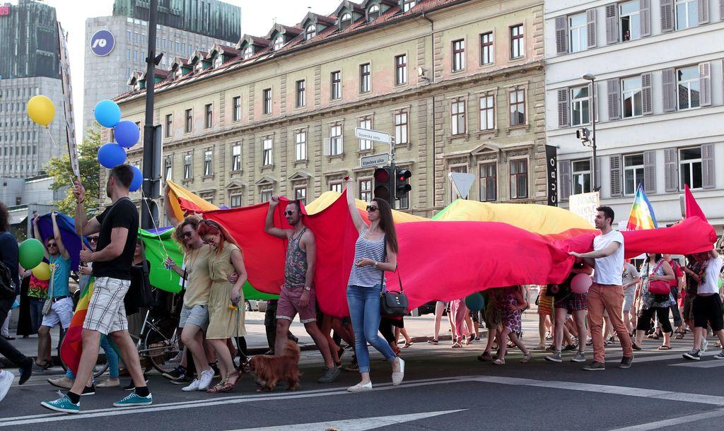 S povorko se zaključuje 16. Parada ponosa