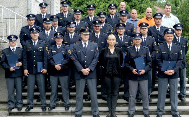 Policaji doboitniki priznanj za hrabrost,Ljubljana Slovenija 20.06.2016 [Policija]