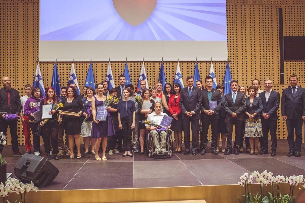 Razglasili naj prostovoljce leta 2015