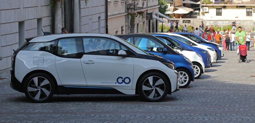 """V Ljubljano prihaja električni """"carsharing"""""""