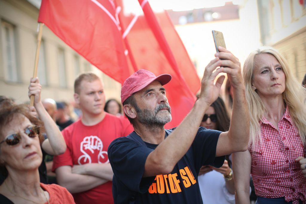 Shod Primorcev v Ljubljani: »Luke ne damo«