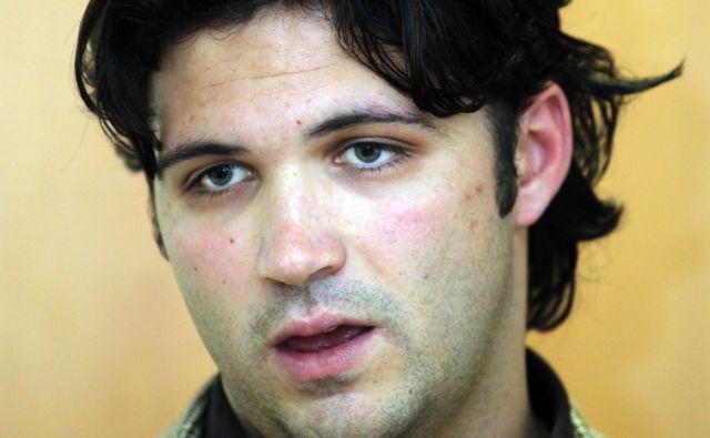 Slovenija.Ljubljana 18.01.2010 Marko Kastelic Mladi forum SD na zgodovinskem srecanju.Foto:Matej Druznik/DELO