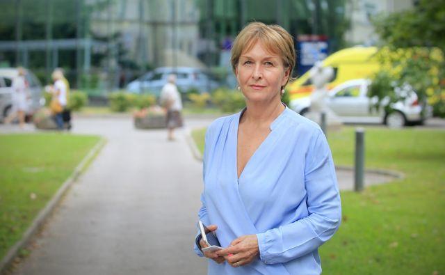 Zlata Štiblar Kisić - direktorica Onkološkega inštituta 13.julija 2016 [Zlata Štiblar Kisić,Onkološki inštitut,direktorji,zdravje]