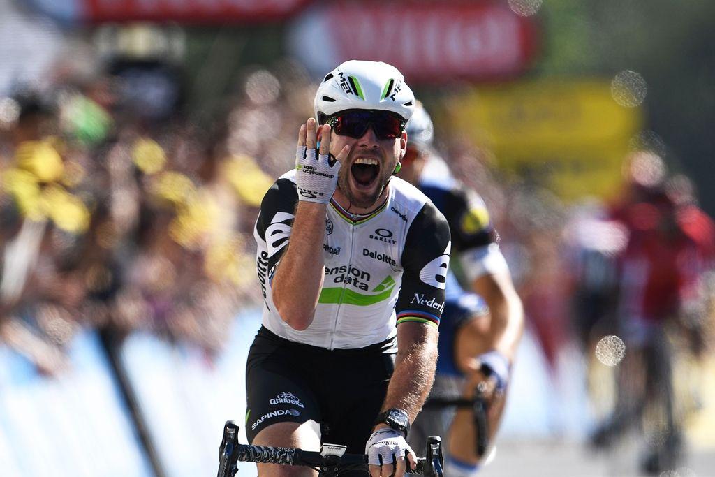 Tour: Cavendishu zmaga št. 4, Kittel jezen kot ris