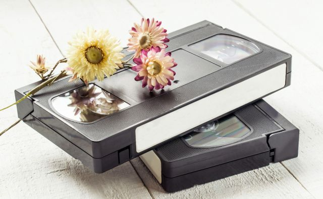 shutter/video kasete