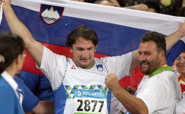 Kitajska.Peking.18.08.2008.Primoz Kozmus in Vladimir Kevo.Foto:Matej Druznik/DELO