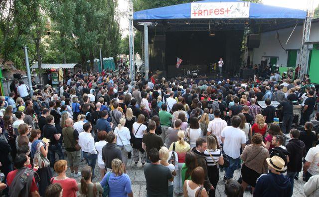Slovenija, Ljubljana, 26.Julij2011, Začetek Trnfesta. Foto: Igor Zaplatil/Delo