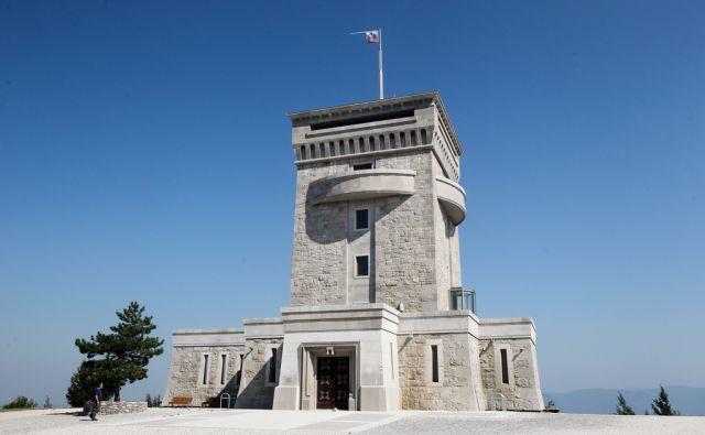 Miren - Lokvica - Cerje, 6.8.2015, na cerju stoji trdnjava - spomenik slovenskim braniteljem zemlje.  Foto: Marko Feist