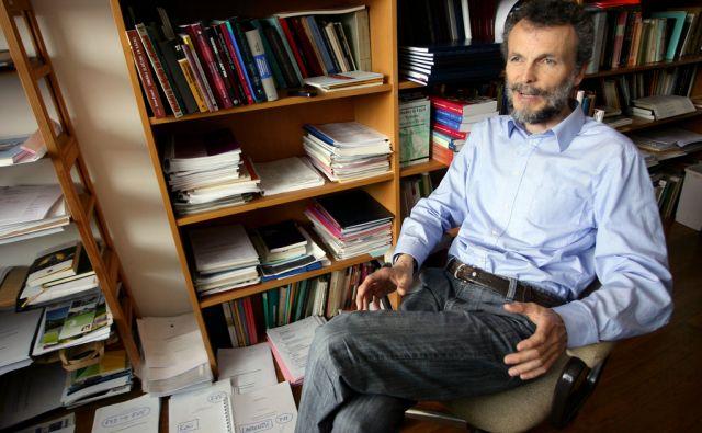 LJUBLJANA SLOVENIJA 08.06.2011 DRAGAN PETROVEC INSTITUT ZA KRIMINOLOGIJO FOTO:ROMAN SIPIC/DELO