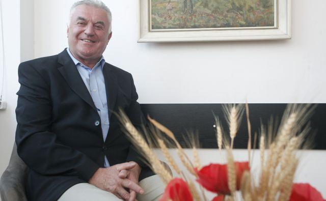 Predsednik društva upokojencev Stane Sušnik. V Ljubljani 5.8.2016[Stane Sušnik.upokojenci]