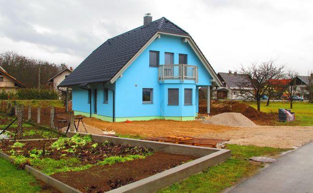 Zirovnica, barve fasad