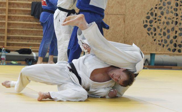 Na sliki Rok Drakšič.Trening judoistov, ki potujejo na olimpijske igre v Rio, Podčetrtek, 7. junija 2016 [judo,Podčetrtek,treningi,Rok Drakšič]