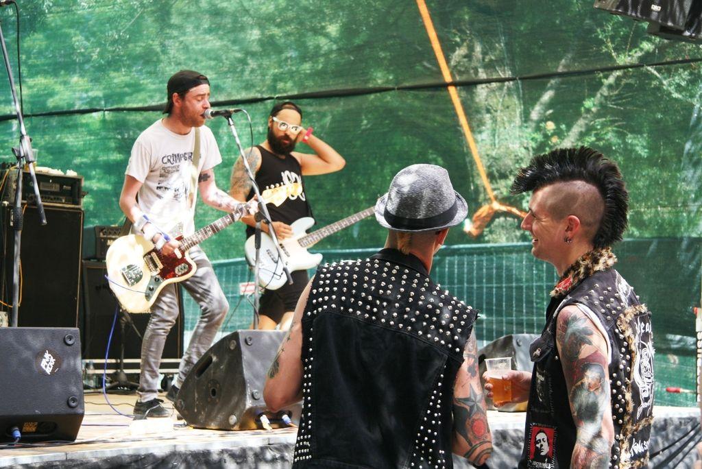 Ritmi punka in reggaeja ob Soči