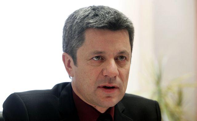 Župan Postojne Igor Marentič . V Postojni 4.2.2015