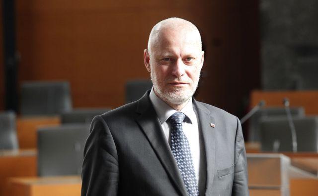 Dr. Milan Brglez, predsednik državnega zbora. V Ljubljani 23.7.2015