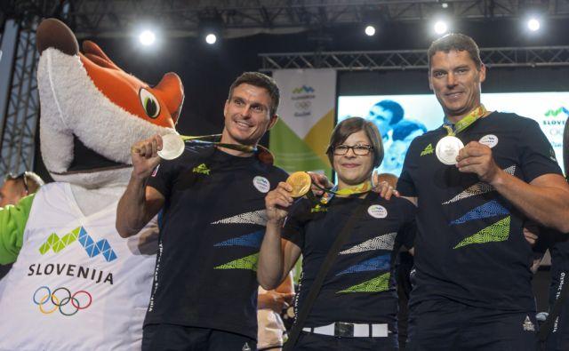 olimpijci, sprejem, BTC