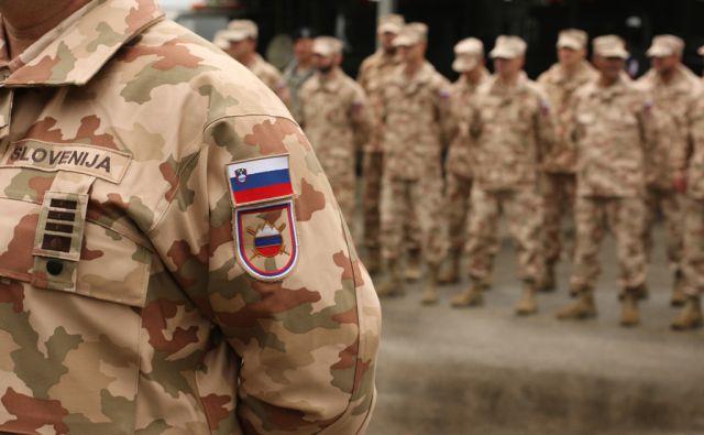 *jer* Slovenska vojska pred odhodom v Afganistan