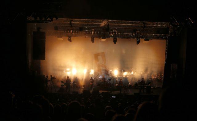 Laibach, koncert, Križanke