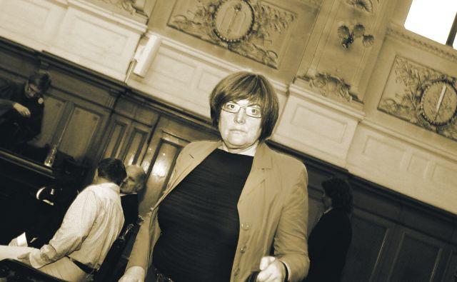 Slovenija.Ljubljana.10.06.2011 Hilda Tovsak na sojenju cista lopata.Foto:Matej Druznik/DELO