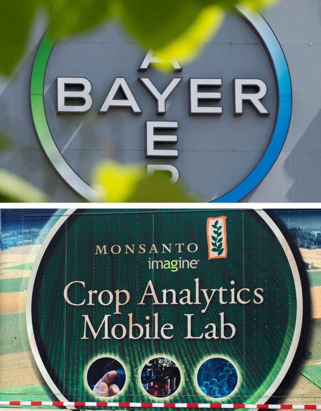 Bayer za 66 milijard dolarjev prevzel Monsanto
