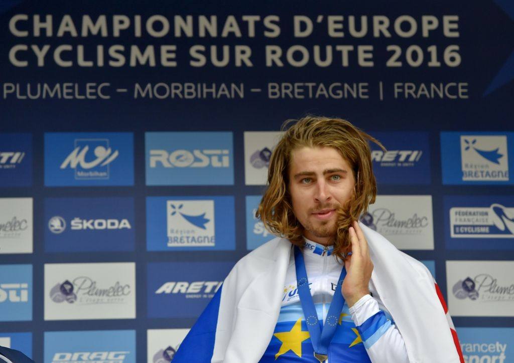 Peter Sagan postal tudi evropski prvak