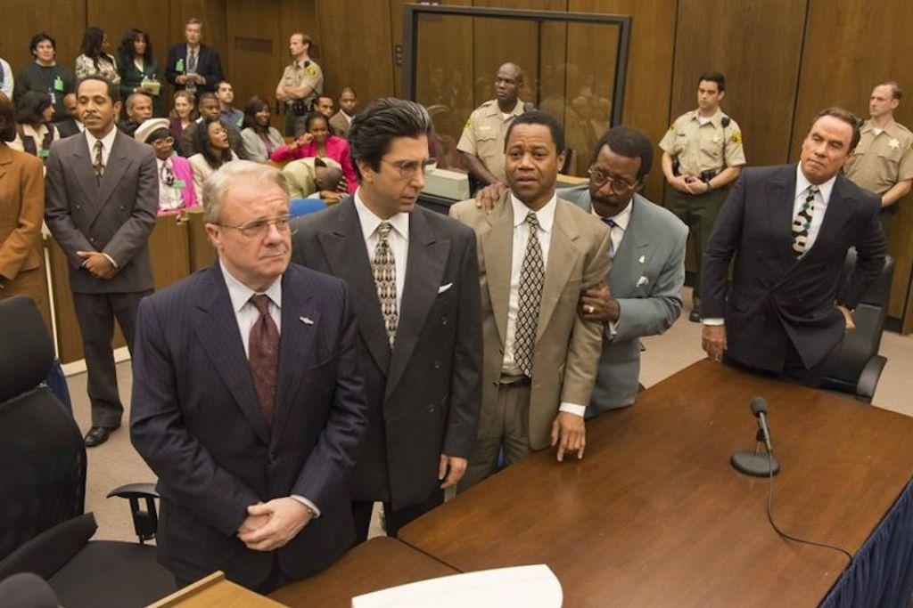 Emmyji: Sporočilo v steklenici s sojenja O. J. Simpsonu