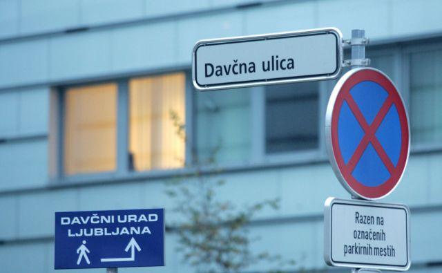 SLOVENIJA,LJUBLJANA, 7.11.2011, DAVCNA ULICA. FOTO:MAVRIC PIVK/DELO