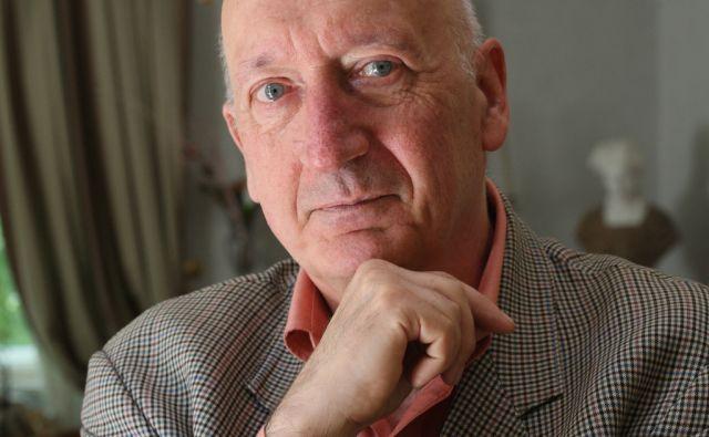 14.5.2011 Trst, Italija. Joze Pirjevec, zgodovinar, zamejski Slovenec iz Trsta, clan SAZU.FOTO:JURE ERZEN/Delo