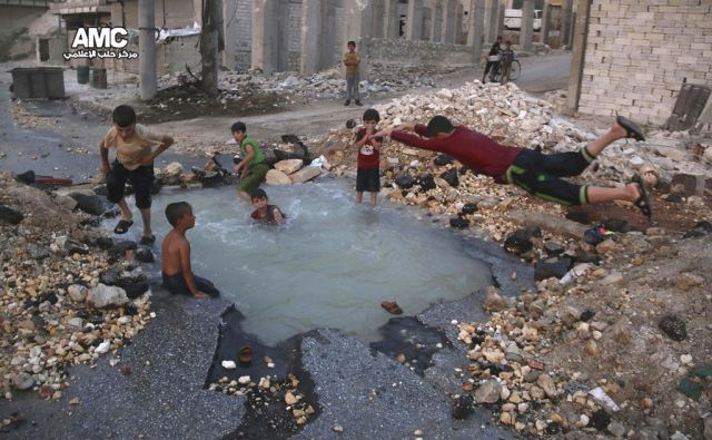 Mideast Syria Children Of Aleppo