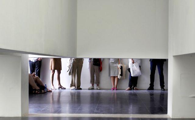Italija.Benetke.03.06.2011 V avstrijskem paviljonu razstavlja Markus Schinwald.Foto:Matej Druznik/DELO
