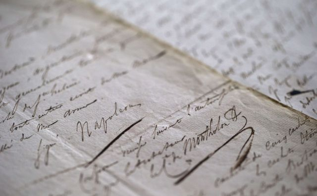 afp/FRANCE-BRITAIN-CULTURE-HERITAGE-HISTORY-AUCTIONS-NAPOLEON-FILES