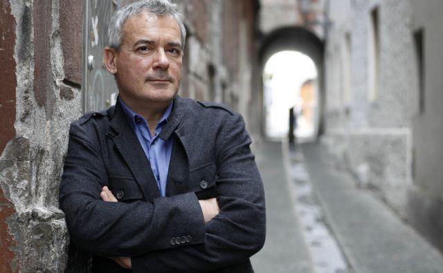 Ilija Trojanow, pisatelj v Ljubljani, 8. oktober 2016 [Ilija Trojanow,pisatelji,Ljubljana,portreti]
