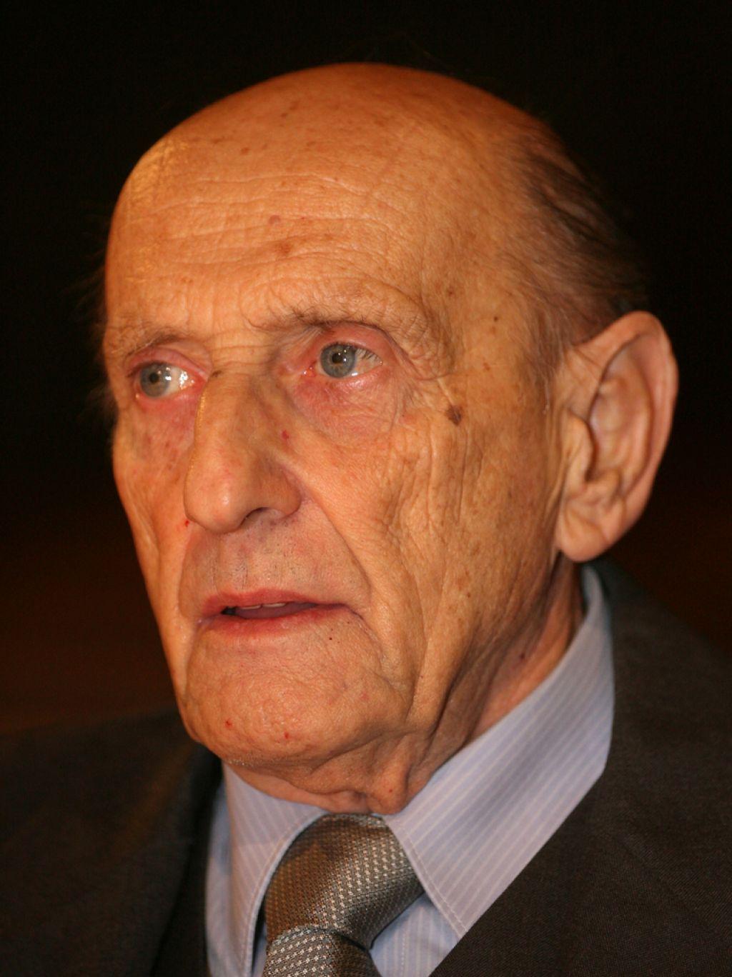 Akademik dr. Miha Tišler, devetdesetletnik
