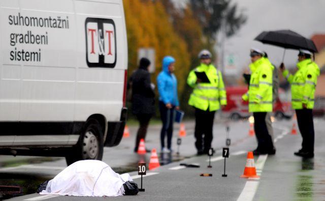 Prometna nesreča s smrtnim izidom,Mengeš Slovenija 20.10.2016 [Promet,nesreča]