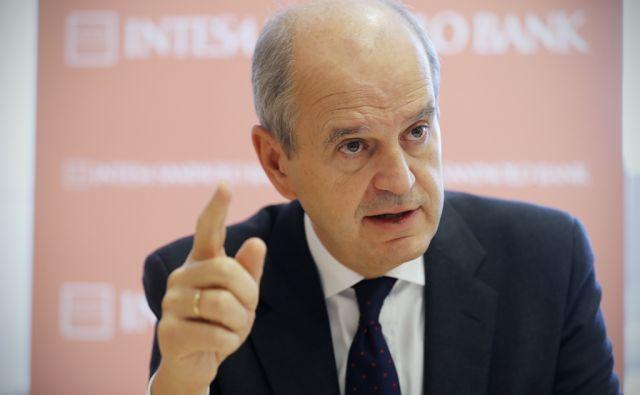 Ignacio Jacqutot, Intesa San Paolo banka, v Ljubljani, 25. oktobra 2016. [Ignacio Jacqutot,Intesa San Paulo banka,bankirji,banke,bančništvo]