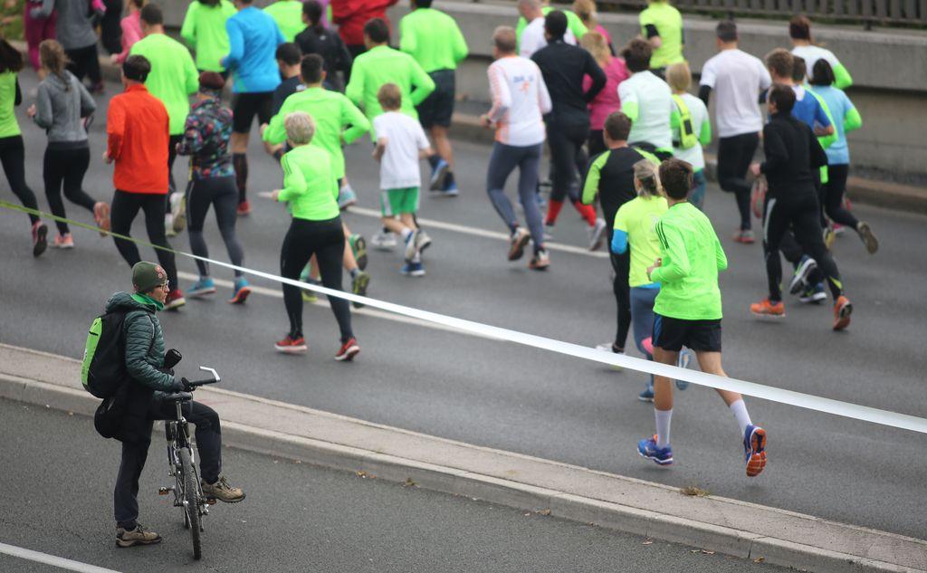 Psihologija maratona ali, bolje, tek pod rentgenom