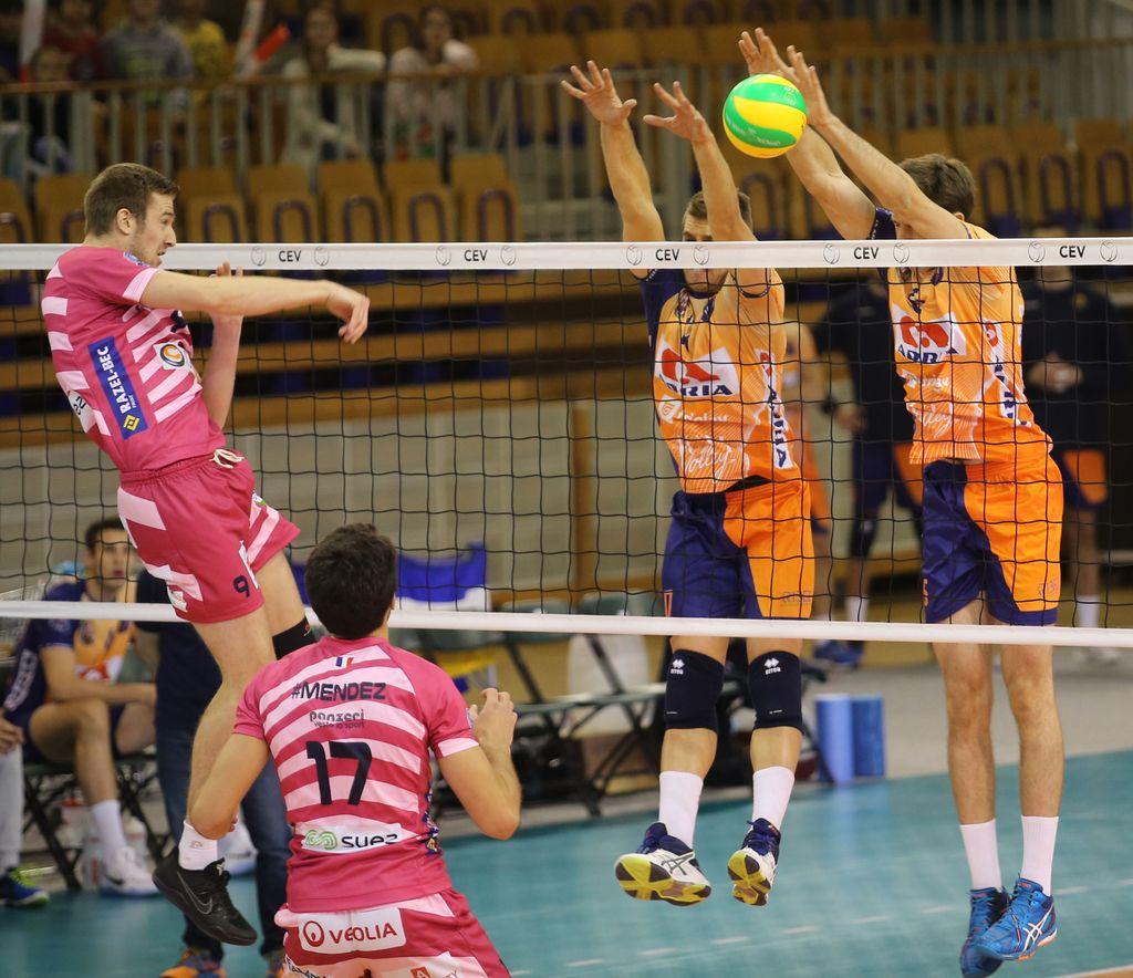 ACH Volley desetič v ligi prvakov