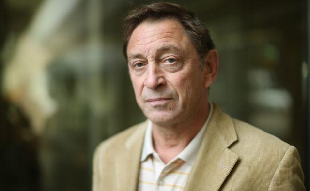 Guy Standing britanski ekonomist in strokovnjak s področja socialnega dela. Ljubljana, Slovenija 22.aprila 2015.