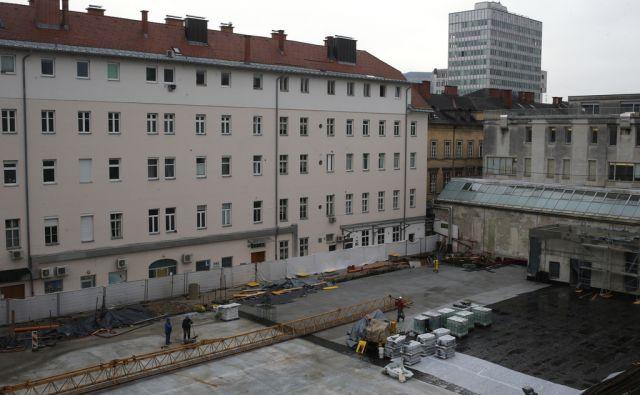 Gradbišče Kozolec 2 Ljubljana 21.11.2016 [kozolec,gradbišče]