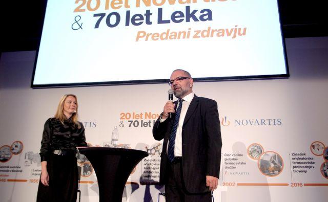 Vojmir Urlep,predsednik uprave Leka,Ljubljana Slovenija 30.11.2016 [Portret]