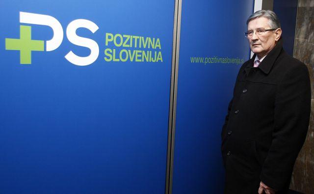 LJUBLJANA 09.01. 2013 svet stranke Pozitivna Slovenija. Jerko CCehovin. Foto: ALESS CCERNIVEC/Delo