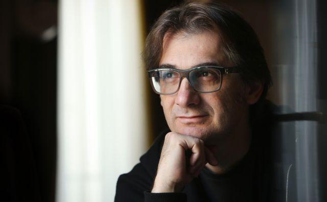 Aleksandar Popovski, makedonski režiser v Ljubljani, Slovenija 16.oktobra 2014.