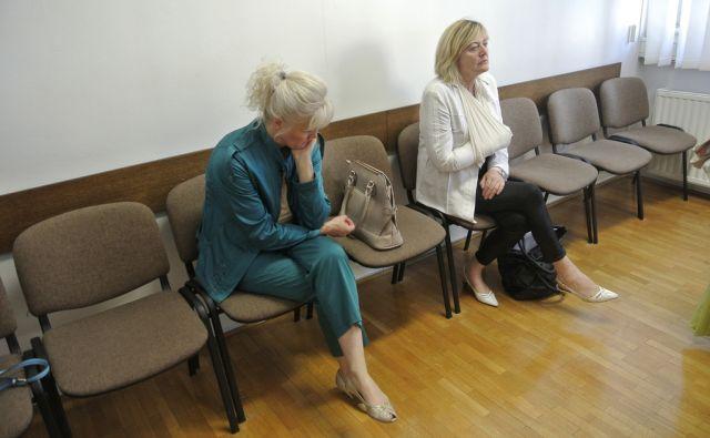 Branka Gabrijel in Hilda Tovšak