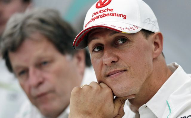 Germany F1 Schumacher health