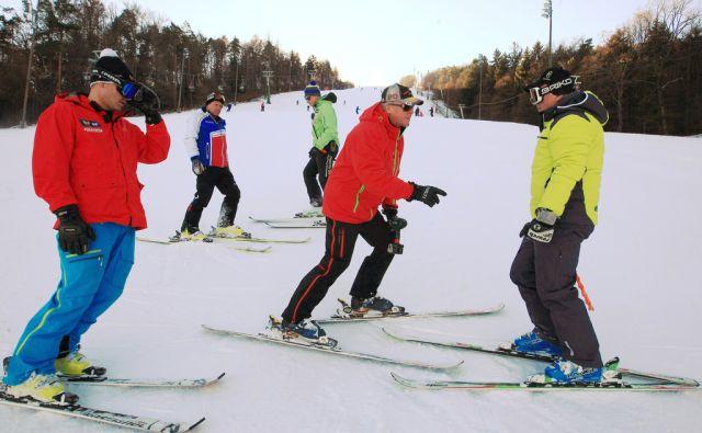Snežna kontrola FIS za Zlato lisico, Pohorje, 30.12.2016