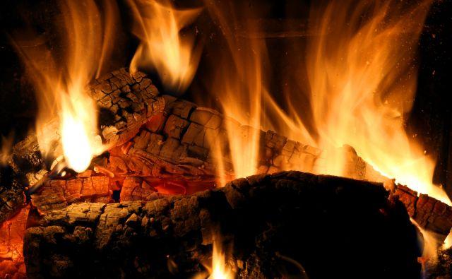 Ogenj v kaminu Žlebe 28.12.2016 [ogenj,drva,kamin,kurjava,peč na drva]
