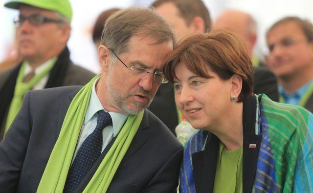 Lojze Peterle, in Ljudmila Novak, SLS tabor, 18.5.2014, Zreče