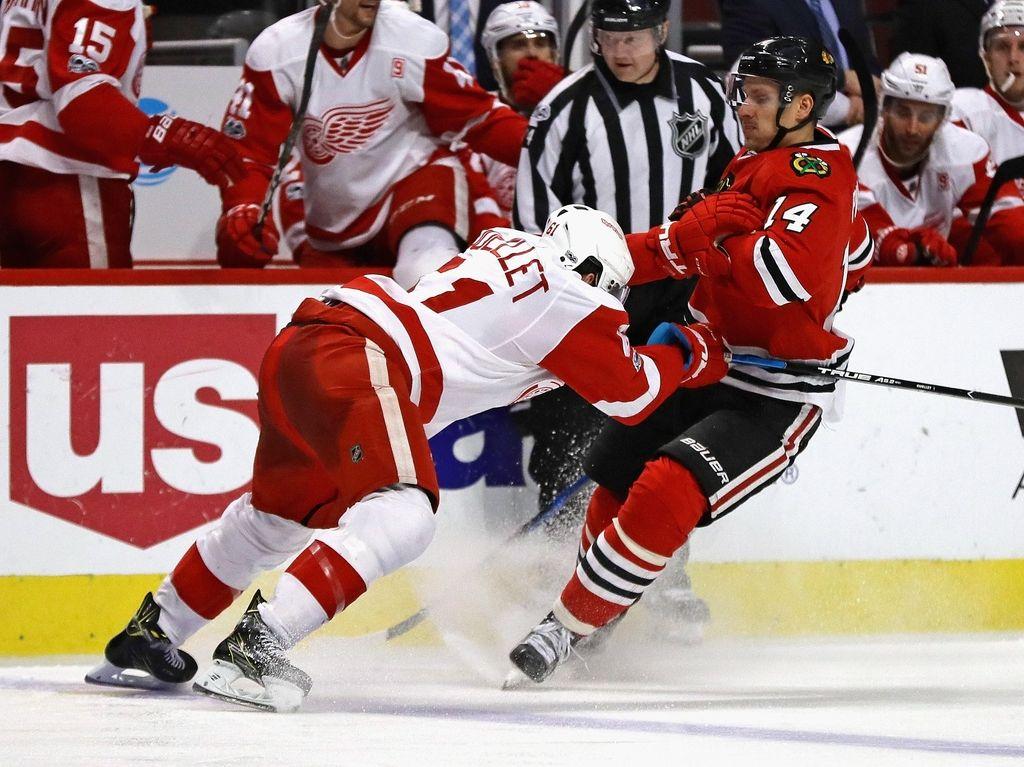 NHL: vodilni šele v podaljšku strli odpor Detroita (VIDEO)