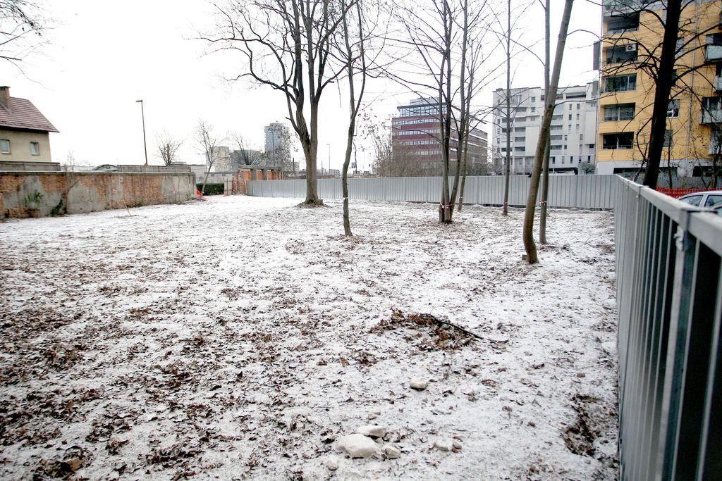 Najprej park, nato neprofitna stanovanja?